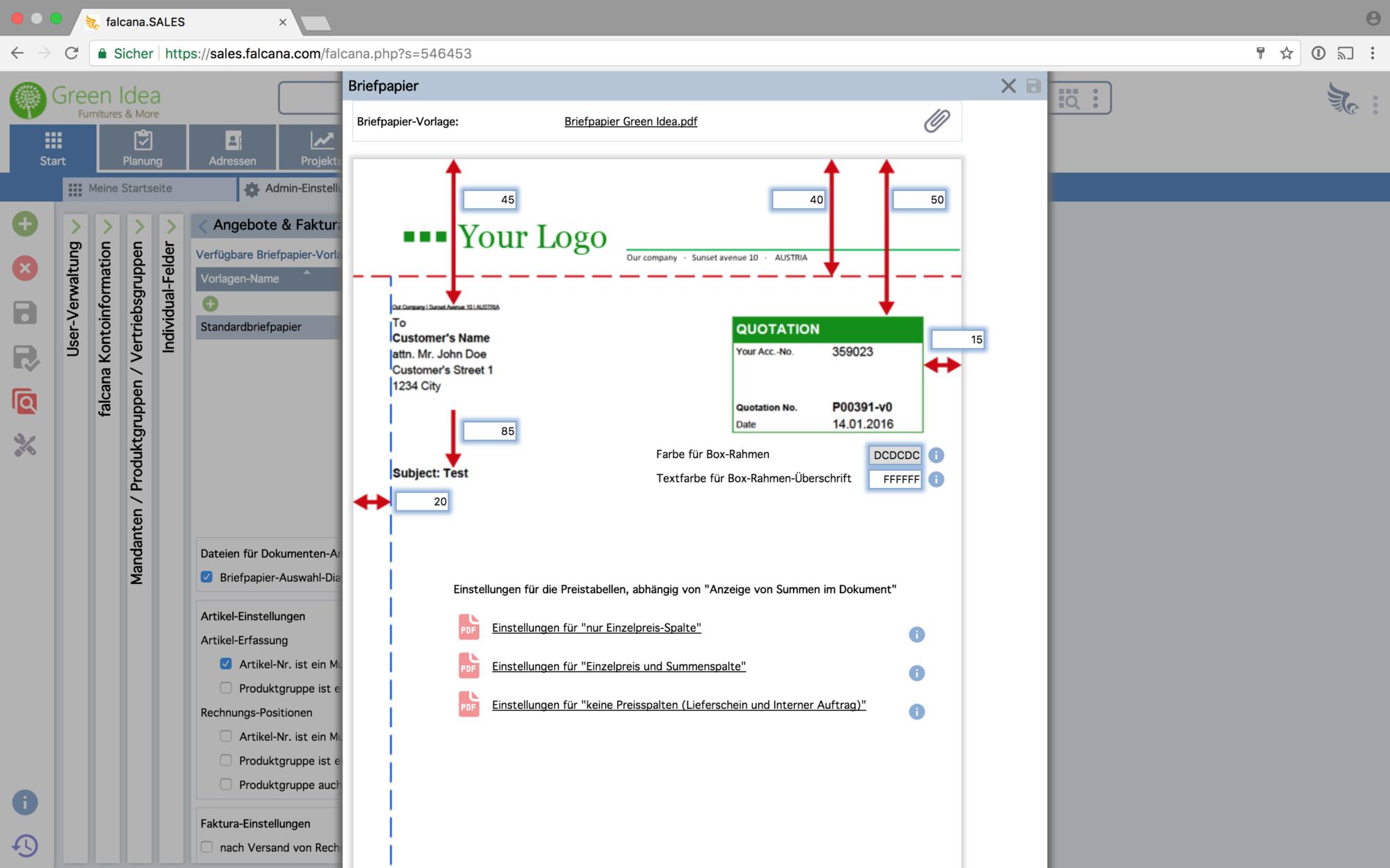 Software Für Projektmanagement Und Angebote Falcanasales